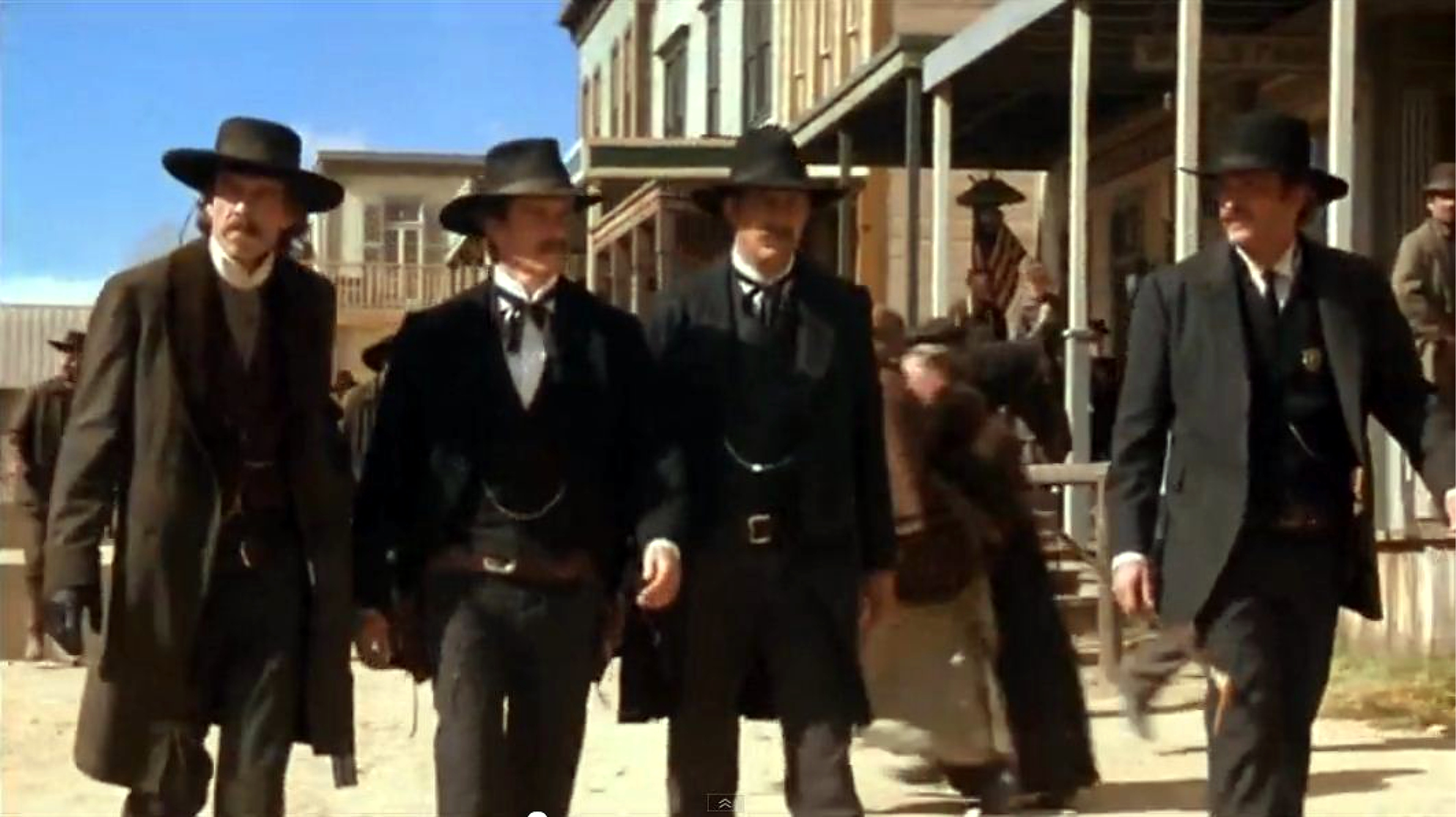 gunfight at the ok corral my favorite westerns wyatt earp dennis quaid michael madsen kevin costner linden ashby