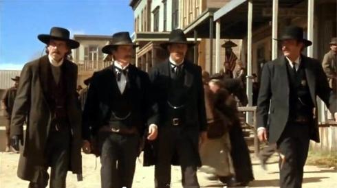'Wyatt Earp' Dennis Quaid, Michael Madsen, Kevin Costner, Linden Ashby