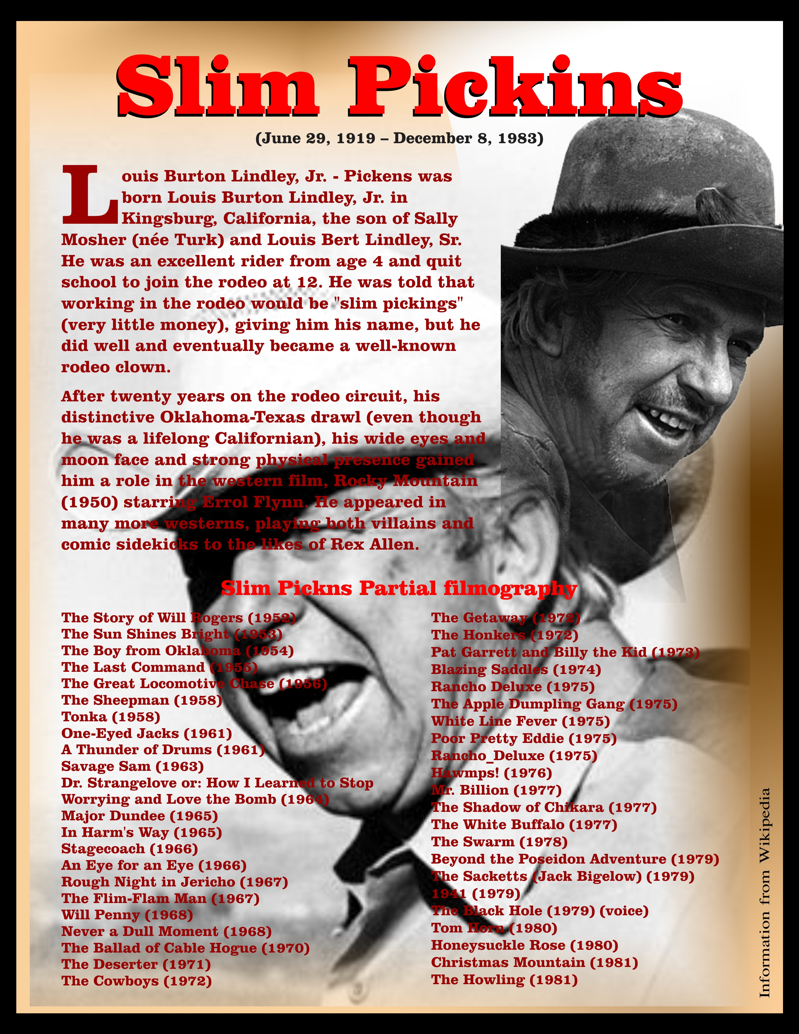 slim pickens lyrics