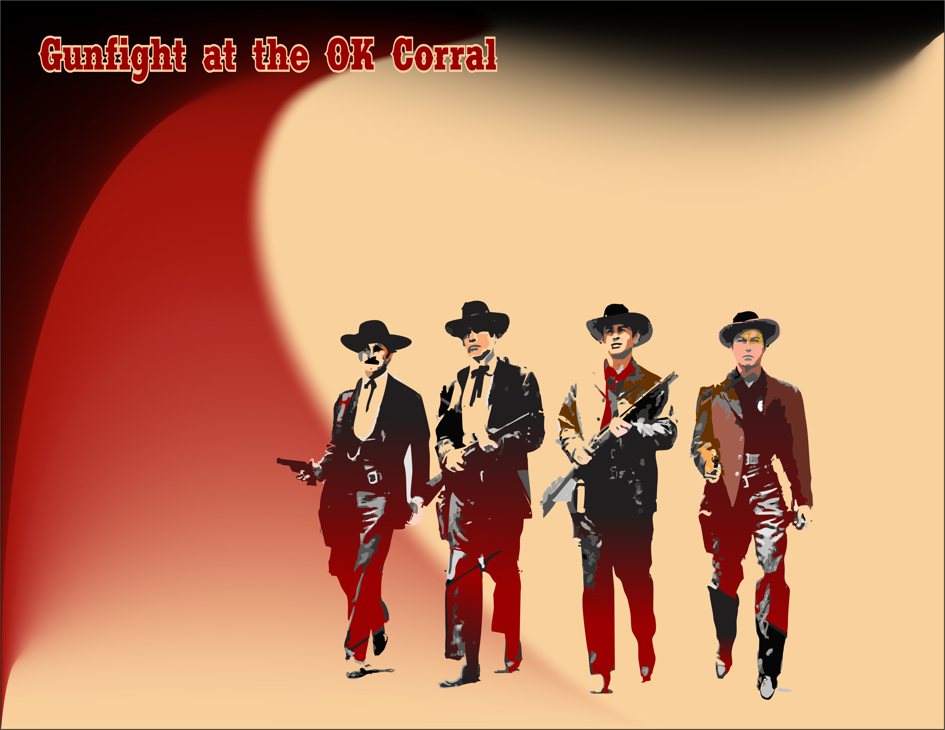 Iconic Images Gunfight At OK Corral 2 My Favorite