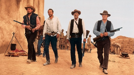 The Wild Bunch: Ben Johnson, Warren Oates, William Holden, Ernest Borgnine