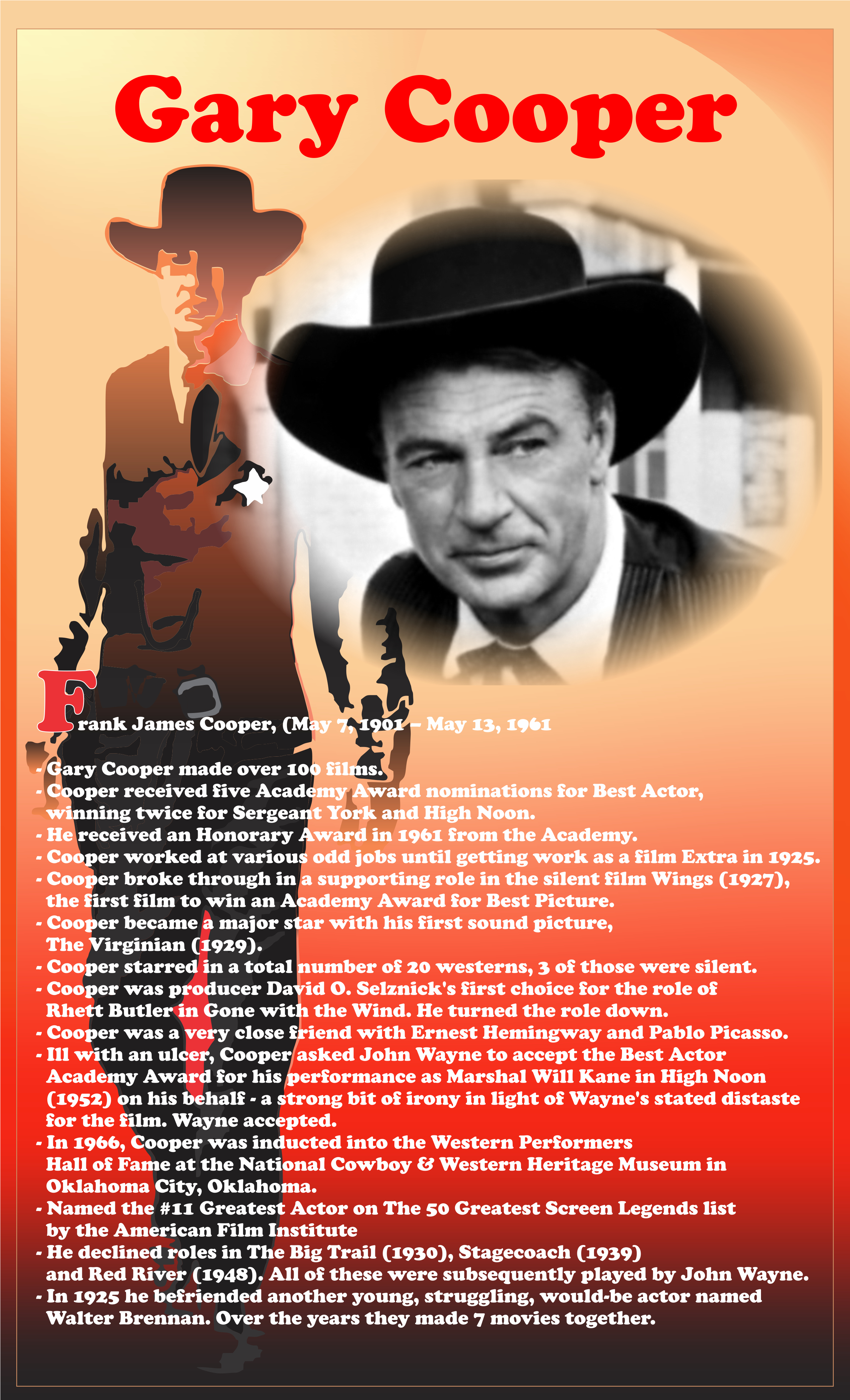 gary cooper filmography