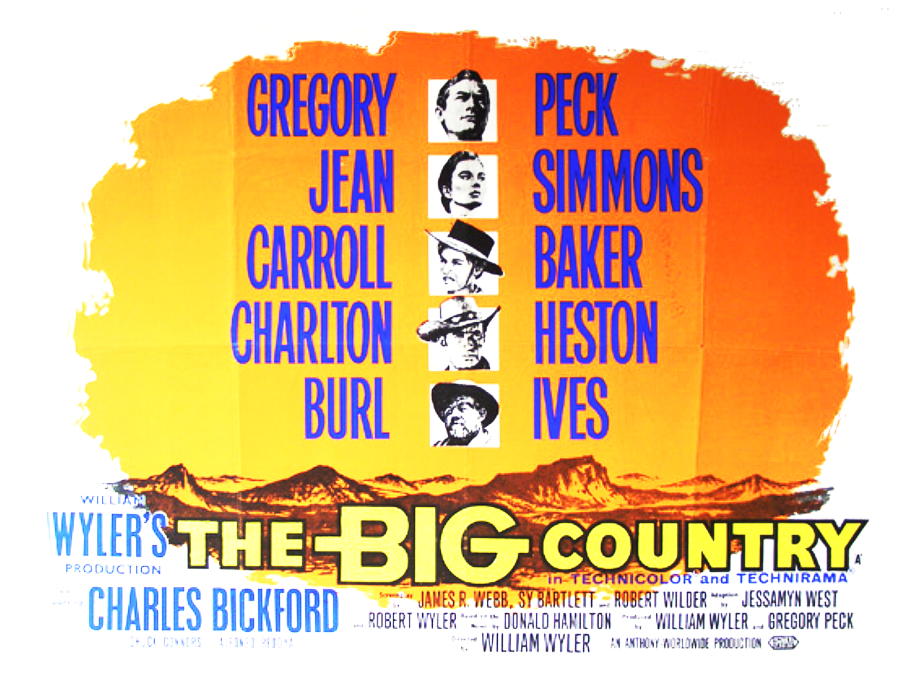 The Big Country | My Favorite Westerns