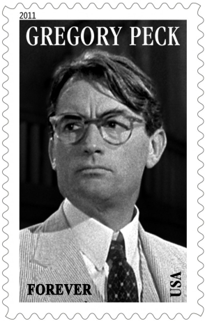 Gregory Peck stamp