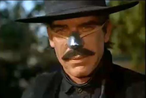 Cat Ballou - Lee Marvin as Tim Strawn
