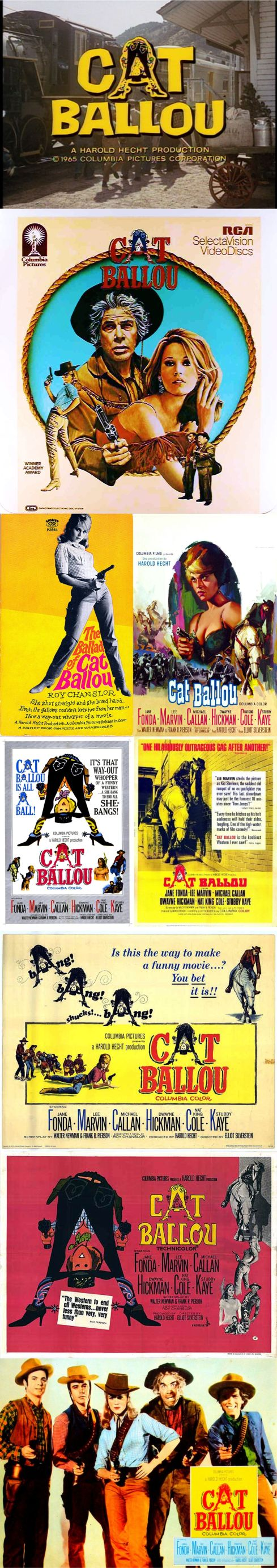 CAT BALLOU posters