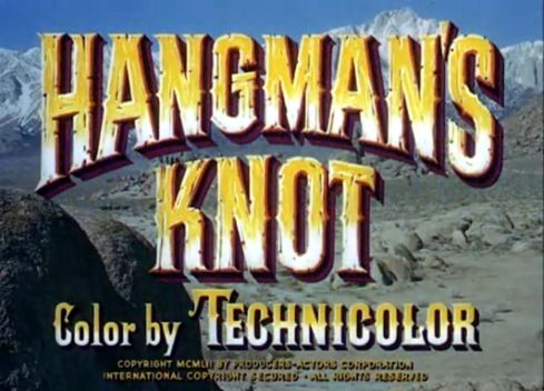 lee marvin hangman's knot
