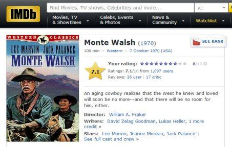 Monte Walsh IMDB
