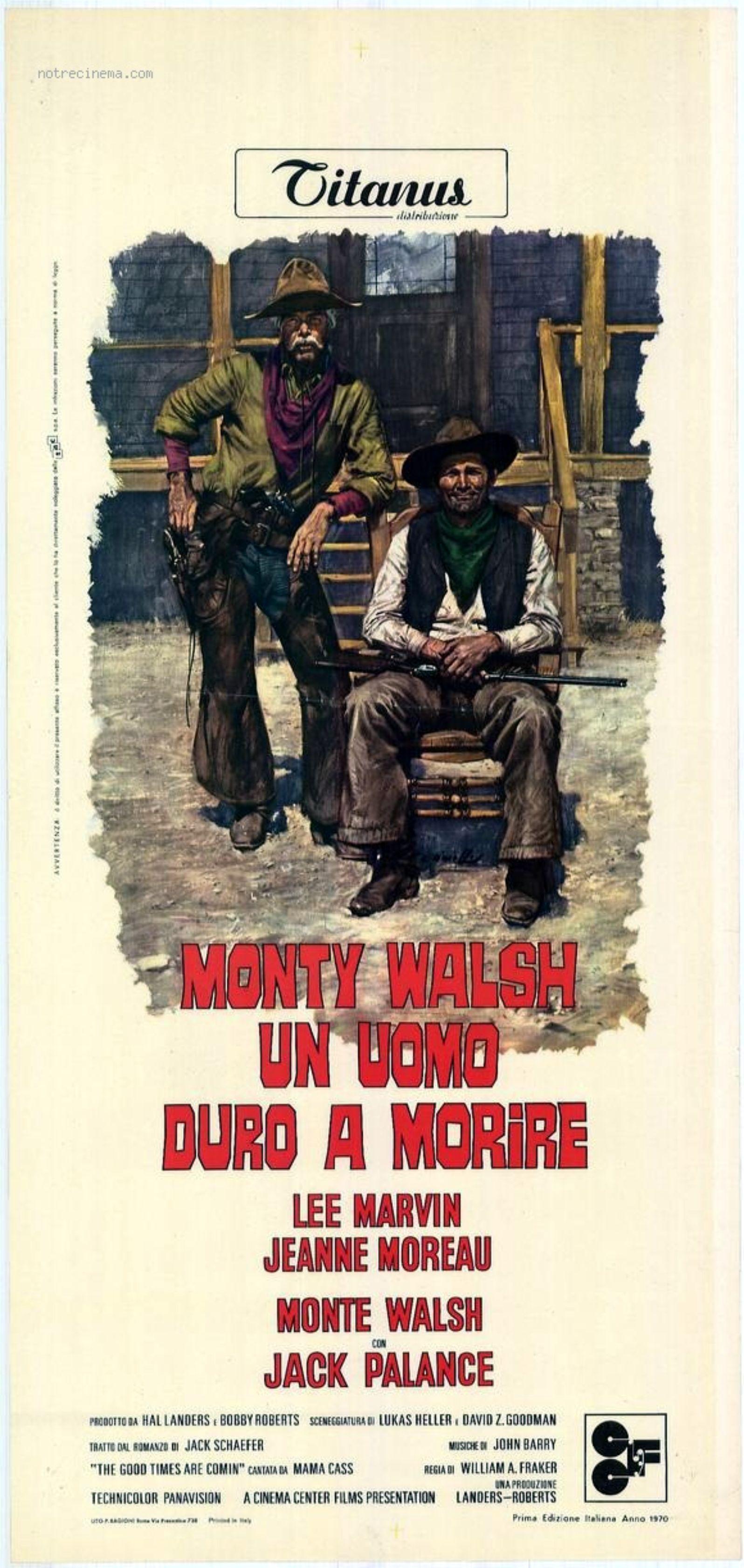 My Favorite Of Films We Saw At >> Monte Walsh … 1970   My Favorite Westerns