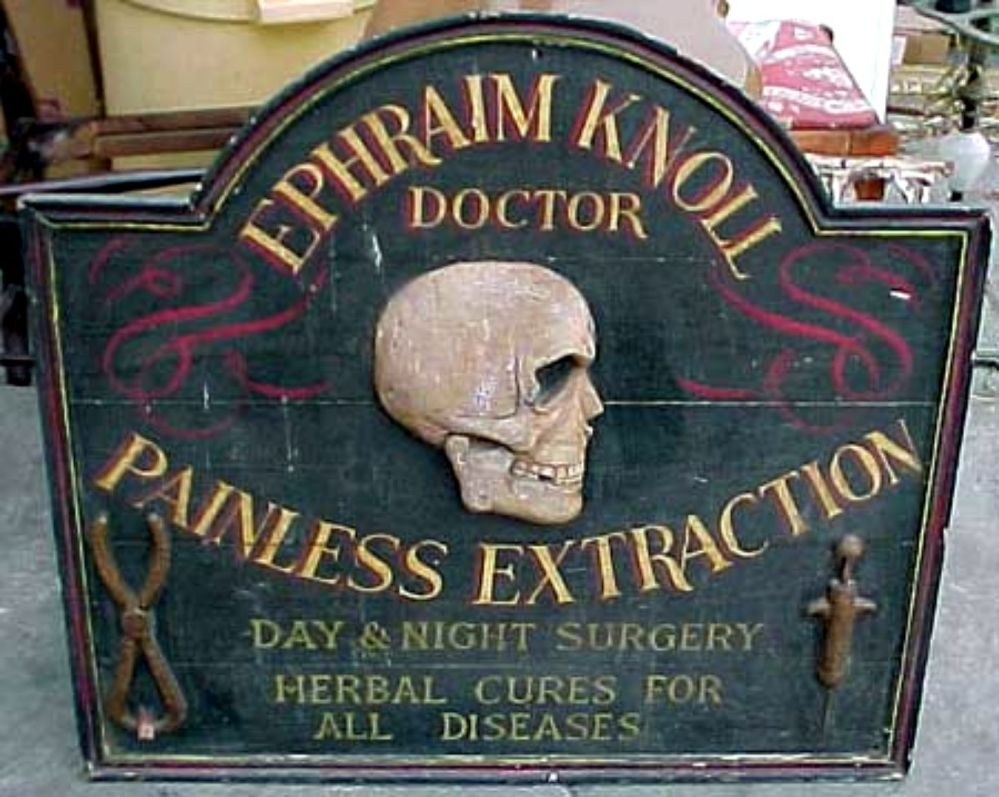 Painless I tell ya ... you can tell by the skull.