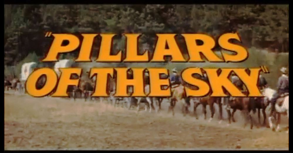 Pillars of the Sky (1956) Banner