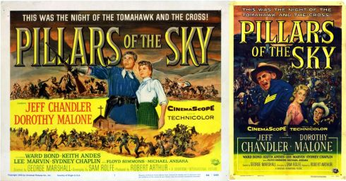 Pillars of the Sky (1956) posters