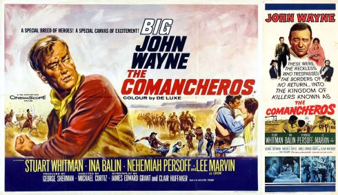 The Commancheros - posters