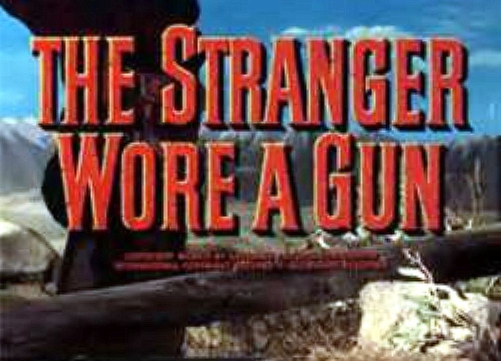 The Stranger Wore a Gun (1953) Banner