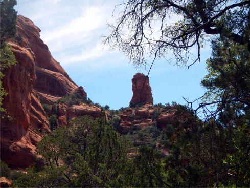 Fay Canyon Chimney Rock