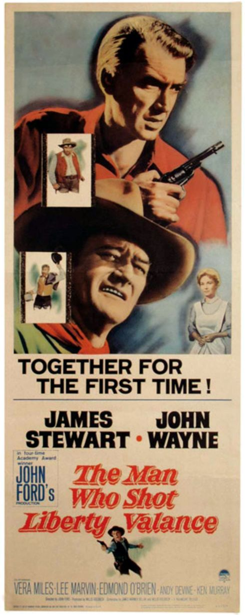 the turning point in the man who shot liberty valance a film by john ford John ford decided to make the man who shot liberty valance  keep the  film a drama without turning it into a tragedy, the man who shot.