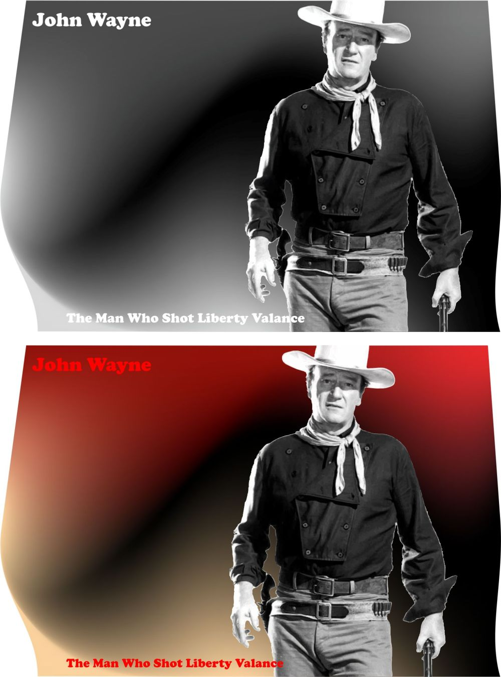 The Man Who Shot Liberty Valance - John Wayne