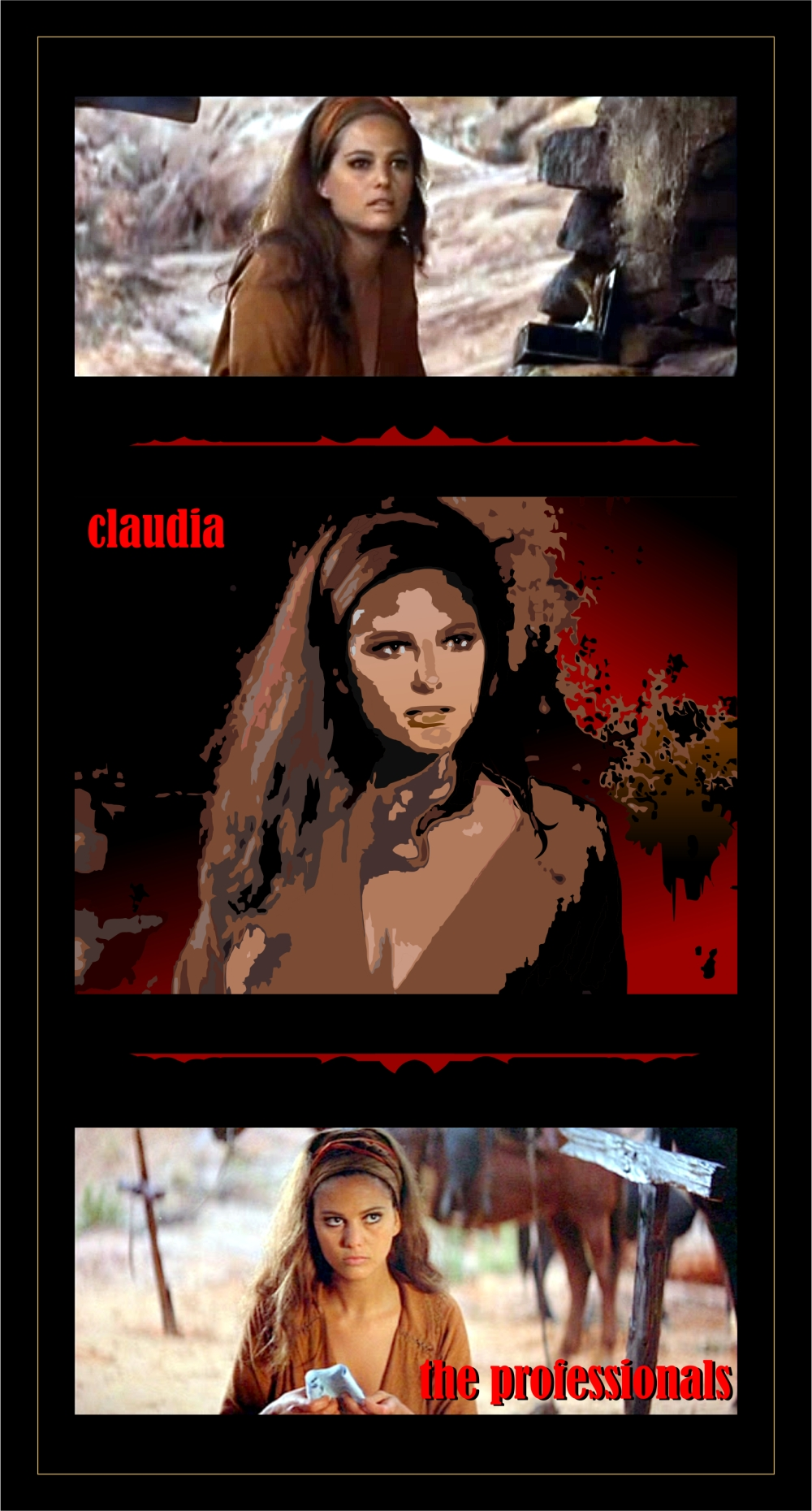 The Professionals claudia 2