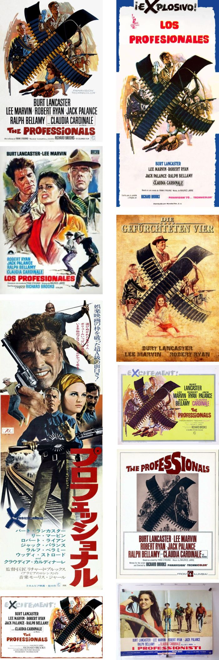 The Professionals posters