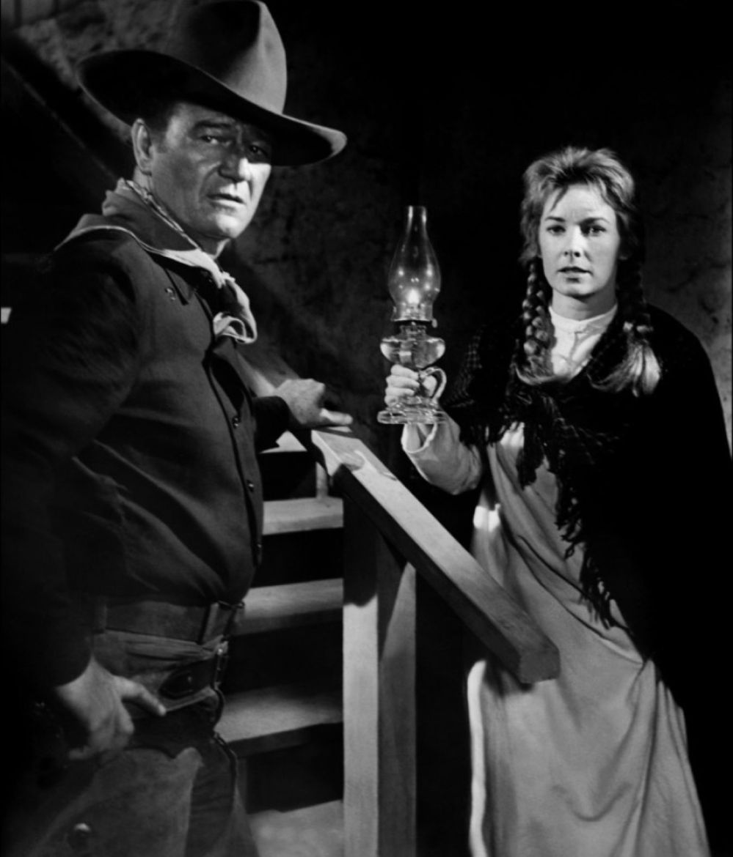 Wayne and Vera Miles