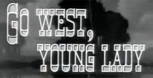 go west banner