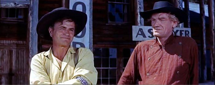Noah Beery Jr. and John Dierkes