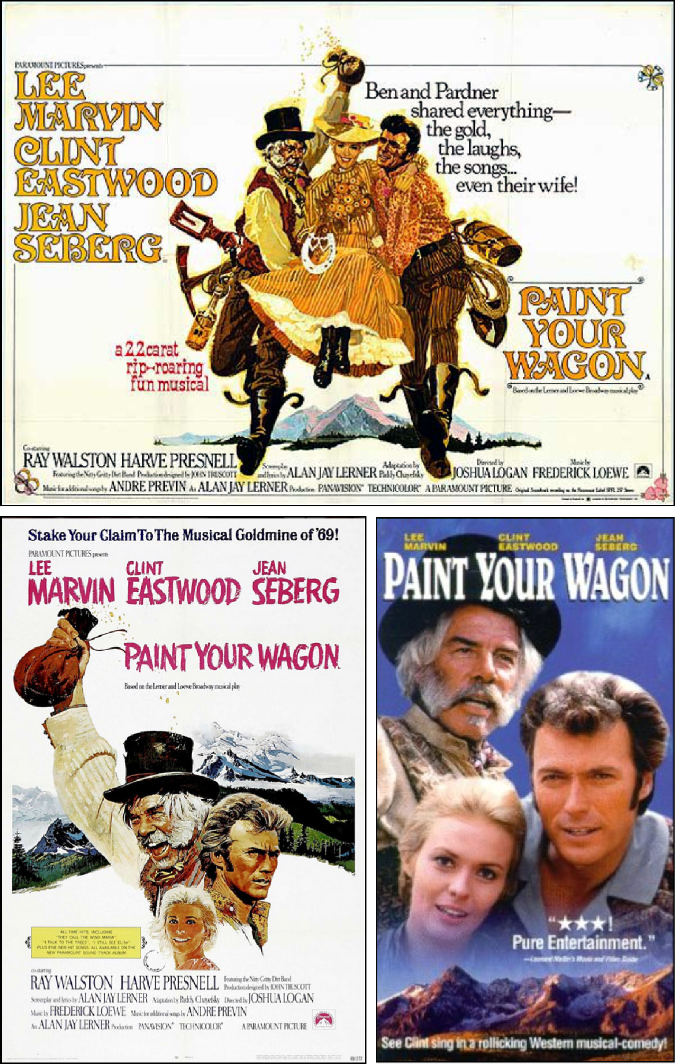 Paint Your Wagon 1969 Film The Star Chamber 1983 Trailer