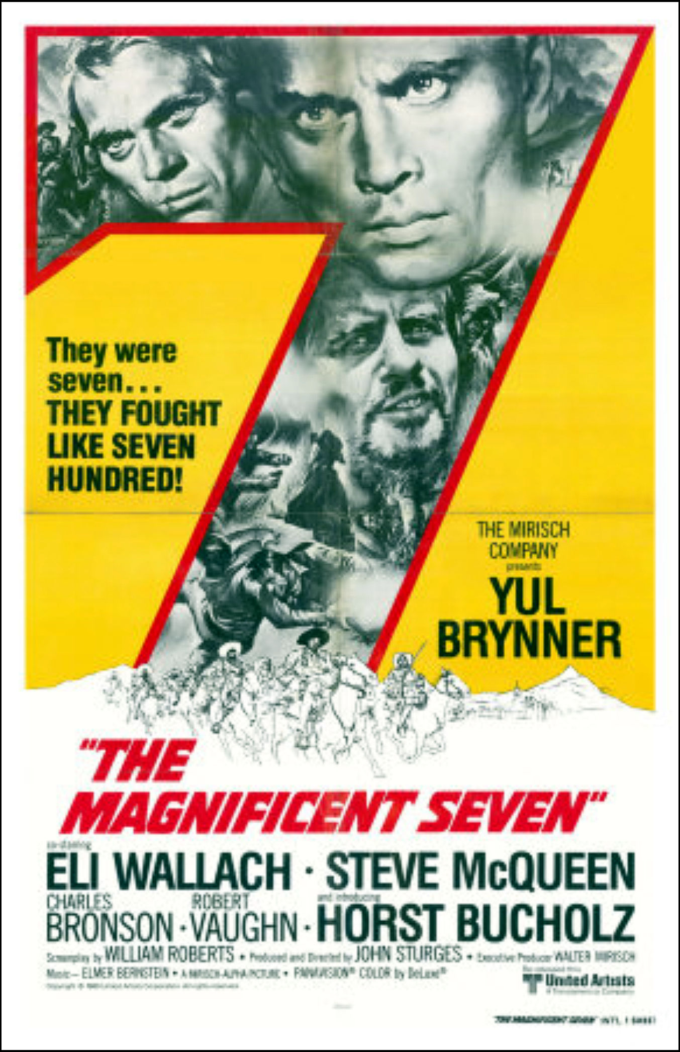magnificent seven my favorite westerns