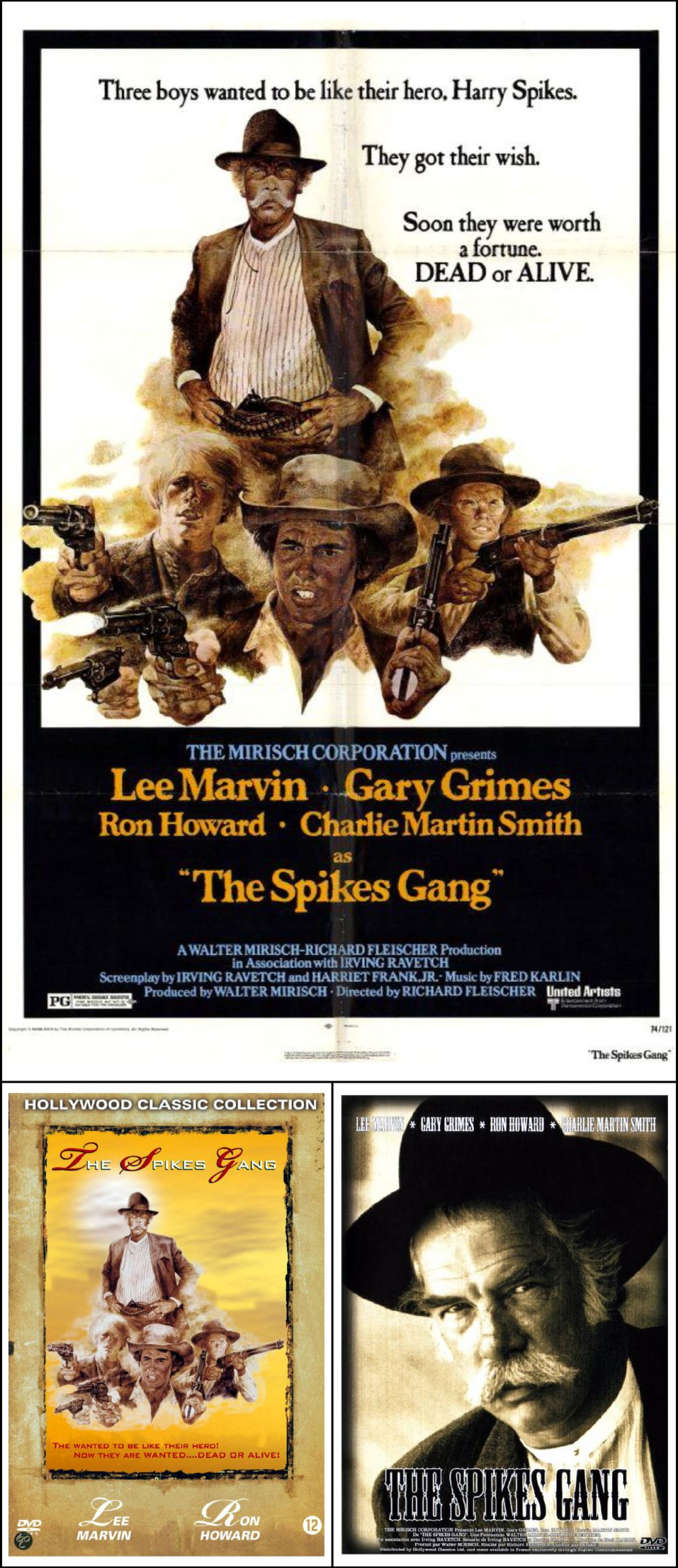 The Spikes Gang posters / 1974