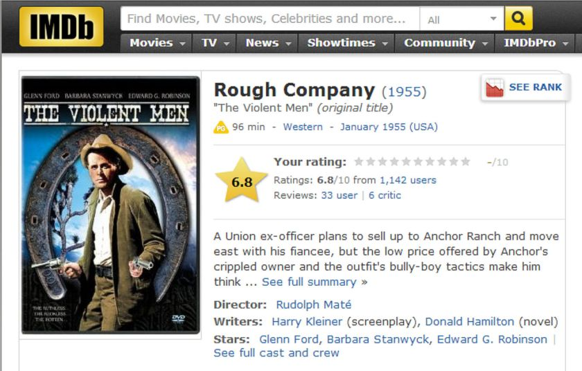 Rough Company - The Violent Men