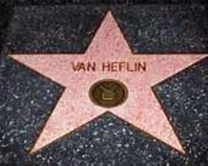 VAN HEFLIN STAR