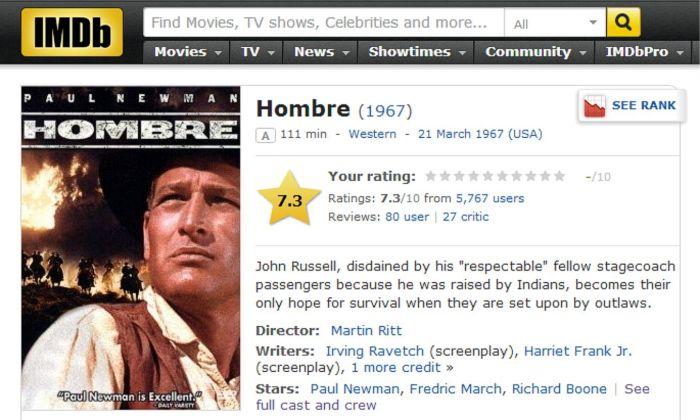Hombre IMDB Review
