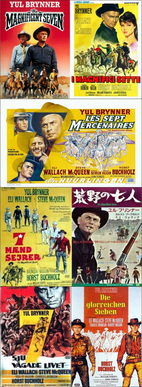 magnificent seven posters 4