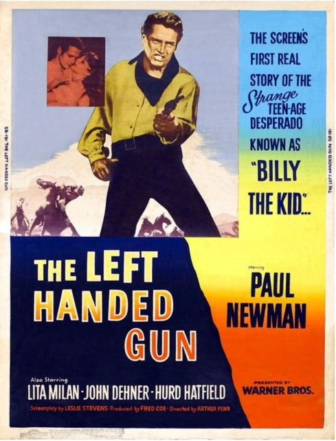 The Left Handed Gun poster