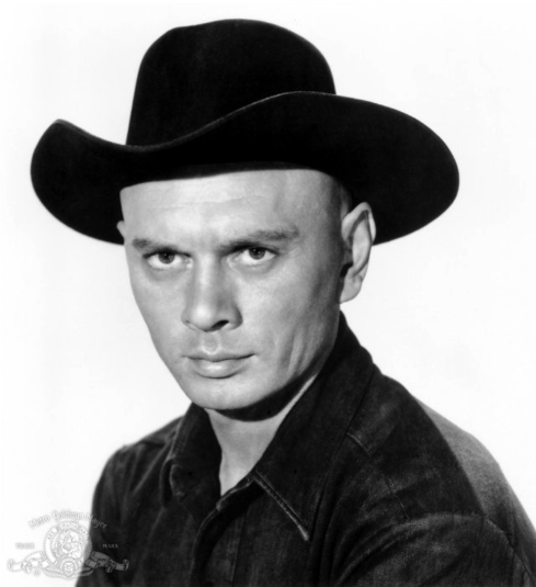 Yul Brynner official pic magnificent seven