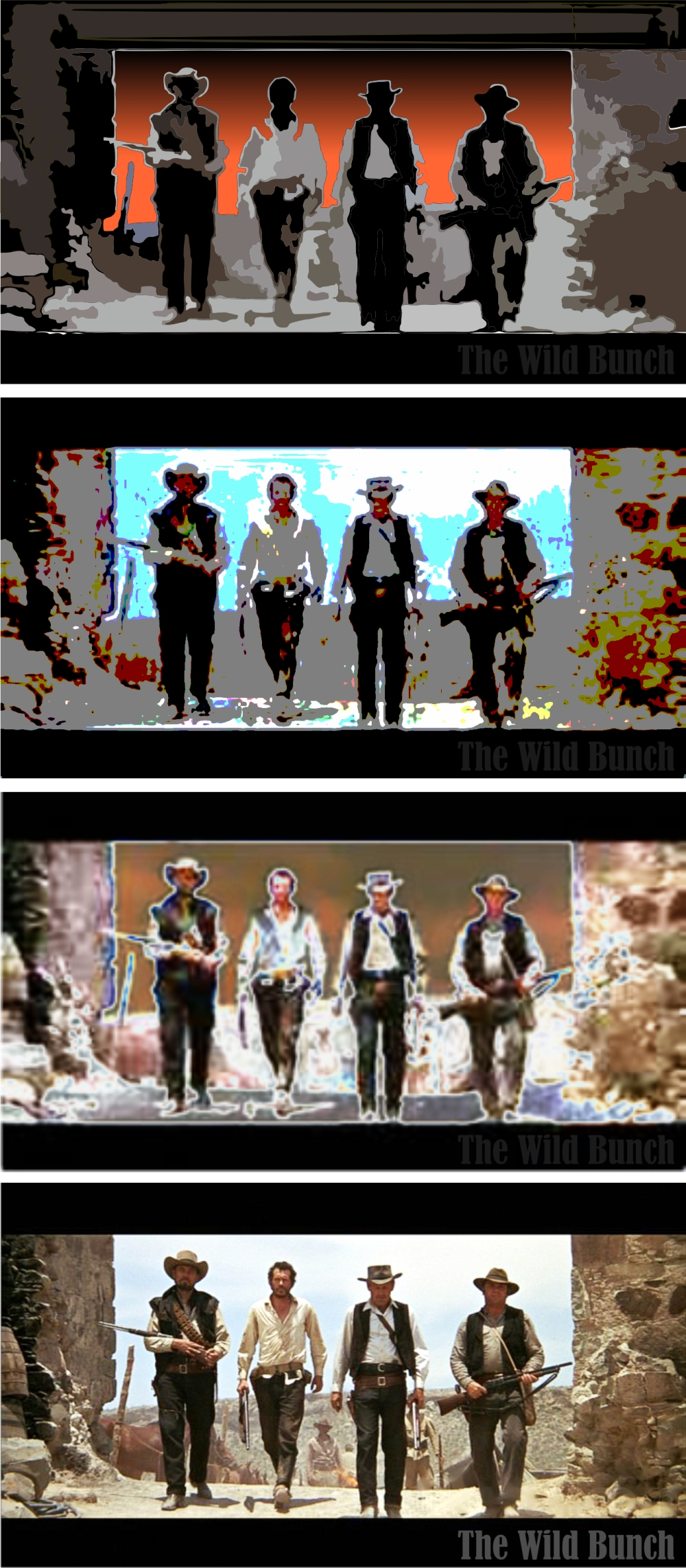 COWBOYS IN THE MIST - the wild bunch