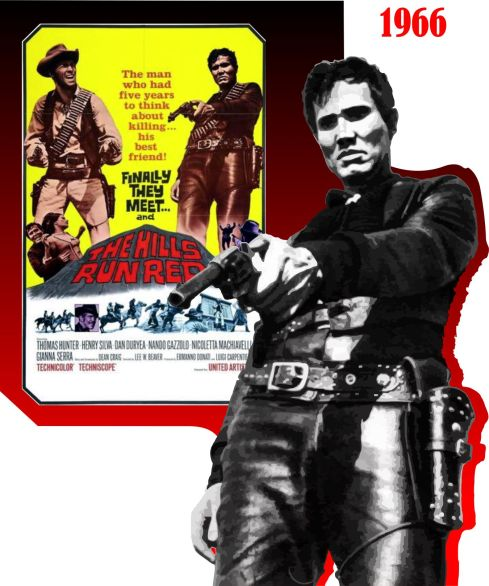 Henry SIlva The Hills Run Red