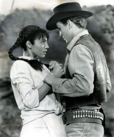Horst Bucholz and Rosenda Monteros