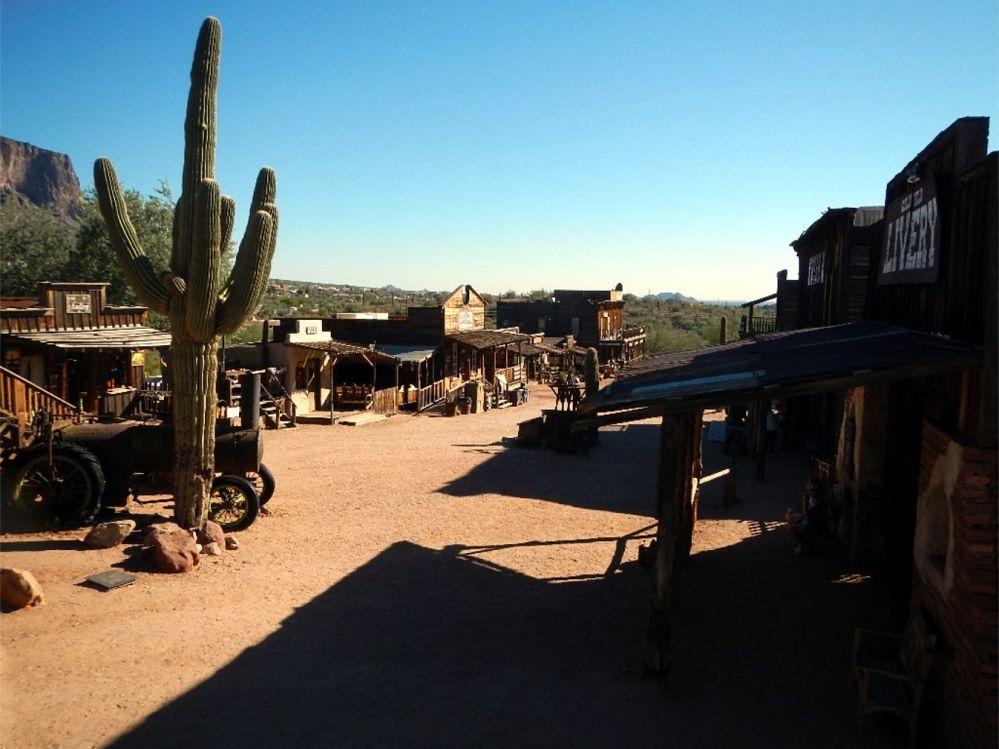Apache Trail Ghost Town