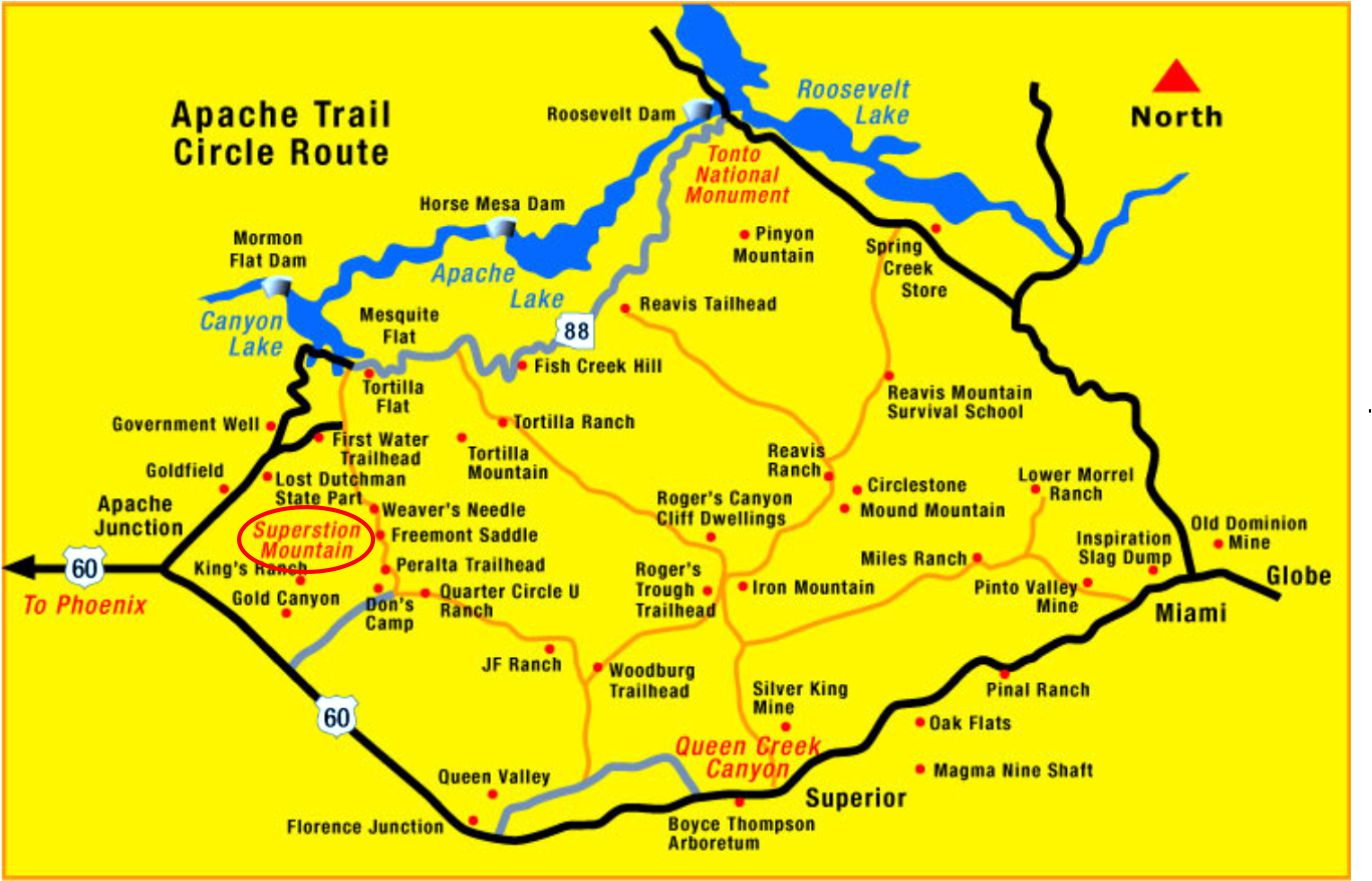 the apache trail and superstition mountain part 1