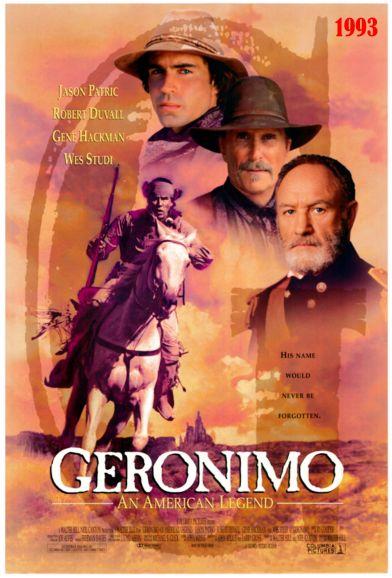 GERONIMO MOVIE POSTER 3