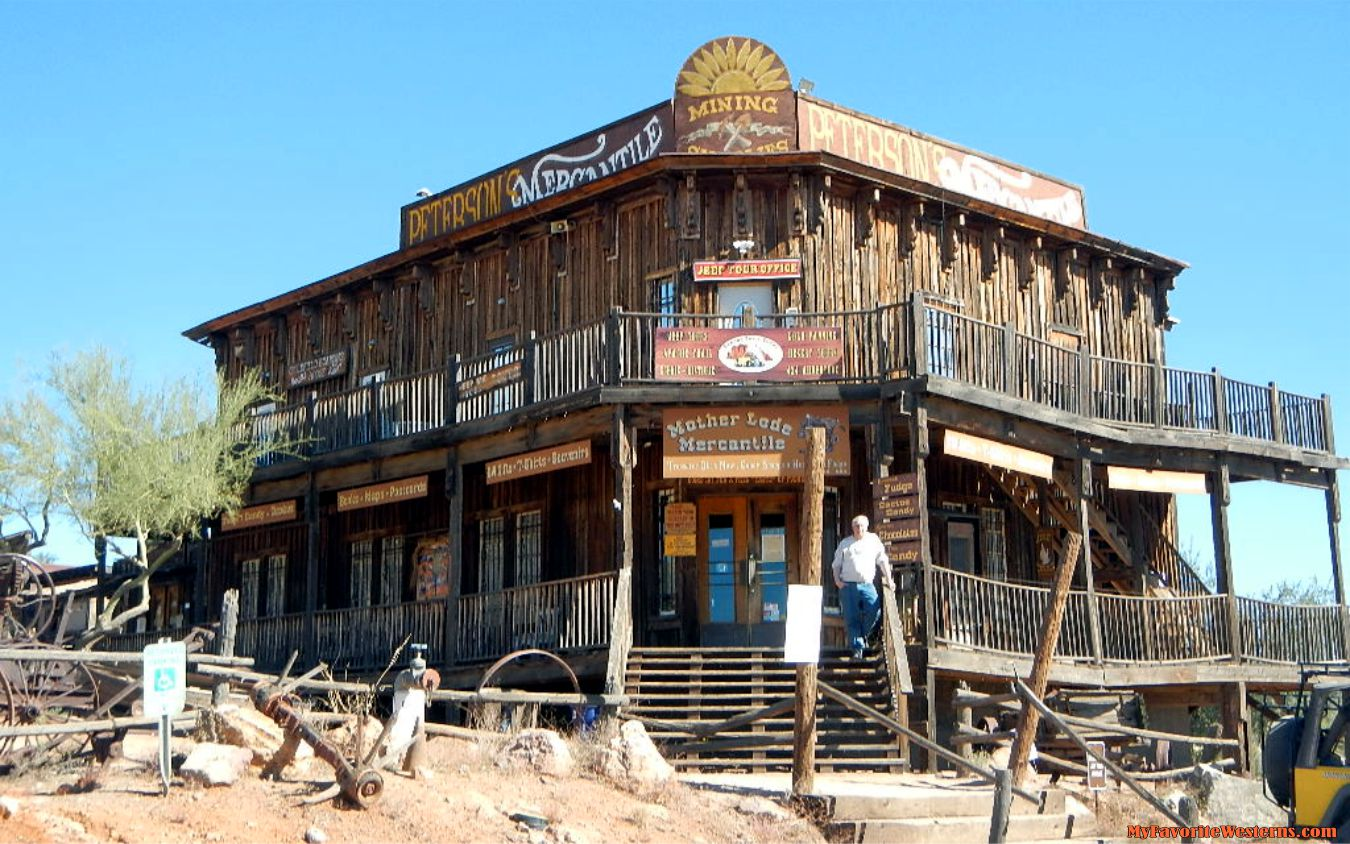 Goldfield Ghost Town My Favorite Westerns