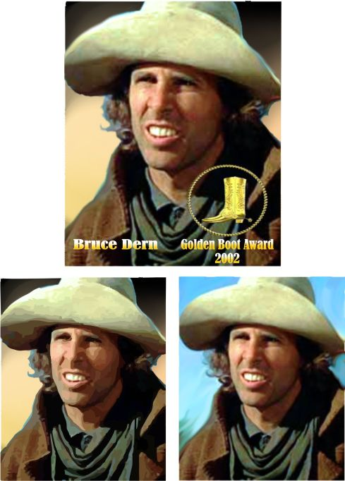 Bruce Dern - Golden Boot