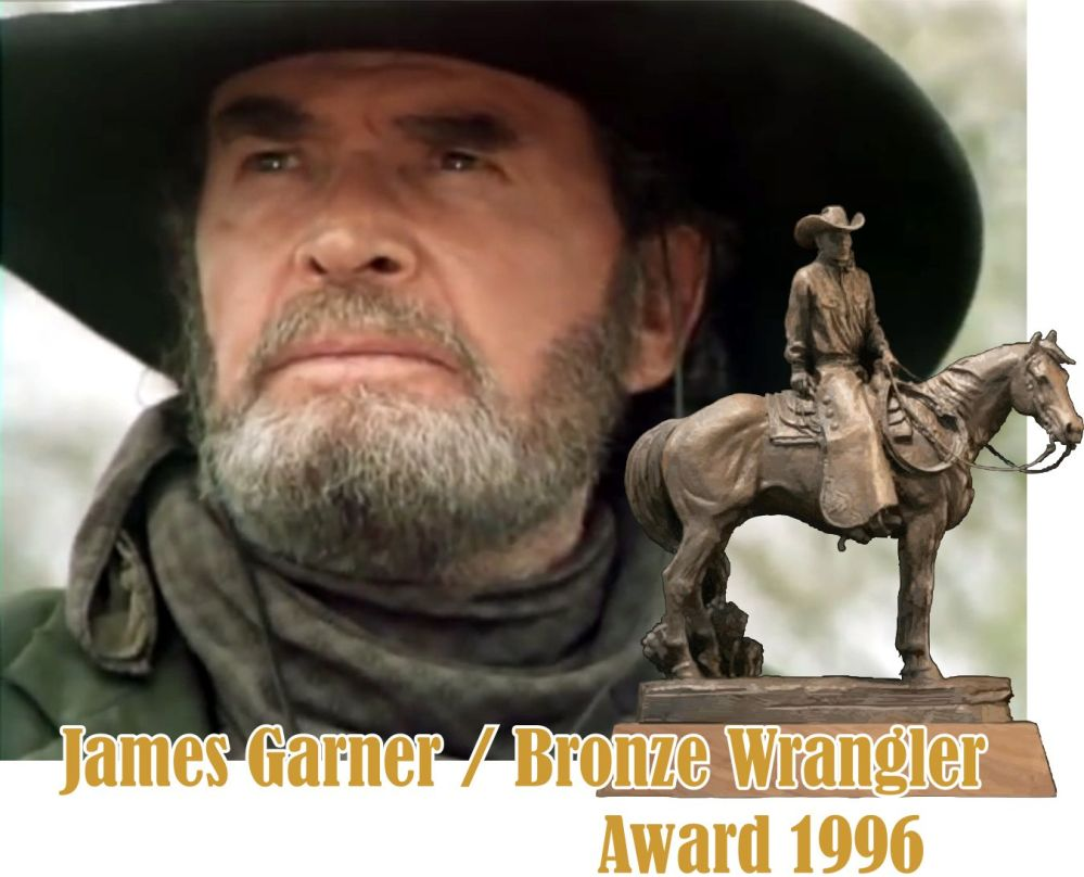 James Garner Bronze Wrangler Award