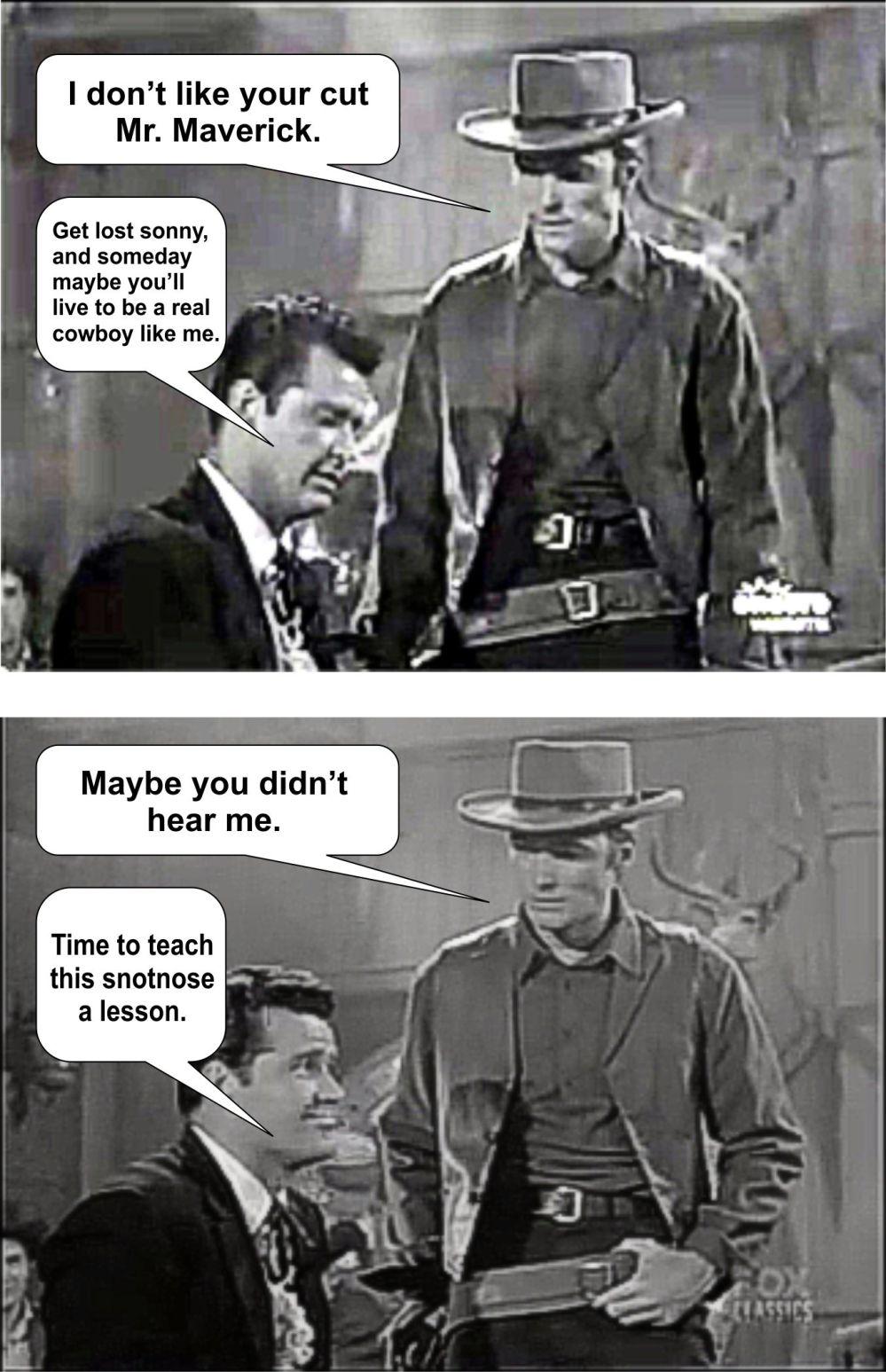 Maverick and Clint