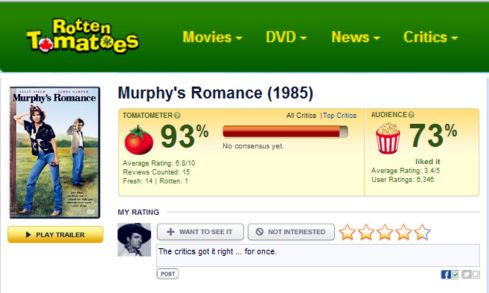 MURPYHY ROMANCE Rotten Tomatoes