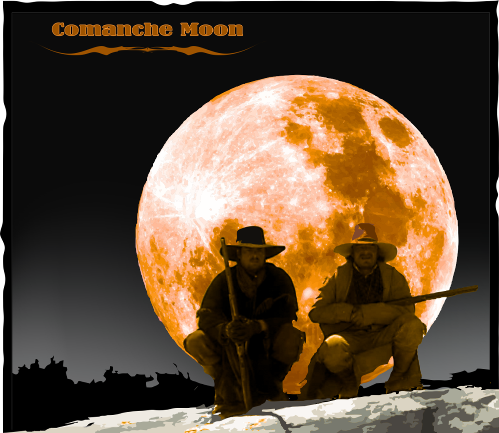 Comanche Moon - Woodrow and Gus 2