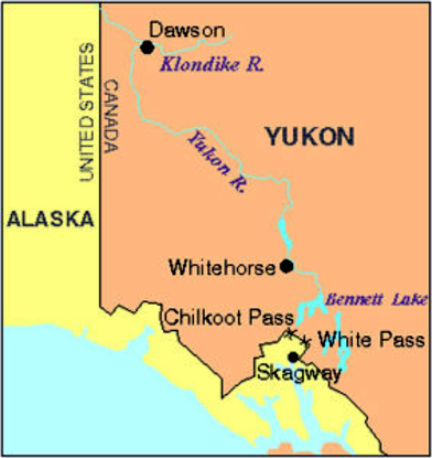 dawson chilkoot klondike