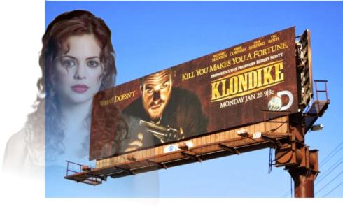 klondike billboard