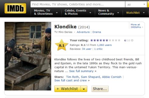 Klondike IMDB